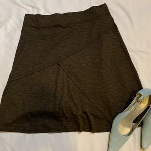 NWT Toad & Co Oblique Skirt